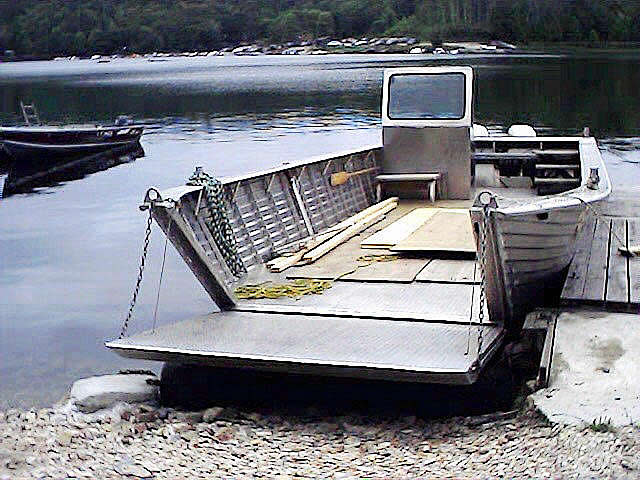 Henley High Speed Landing Craft Henley Aluminum Boat