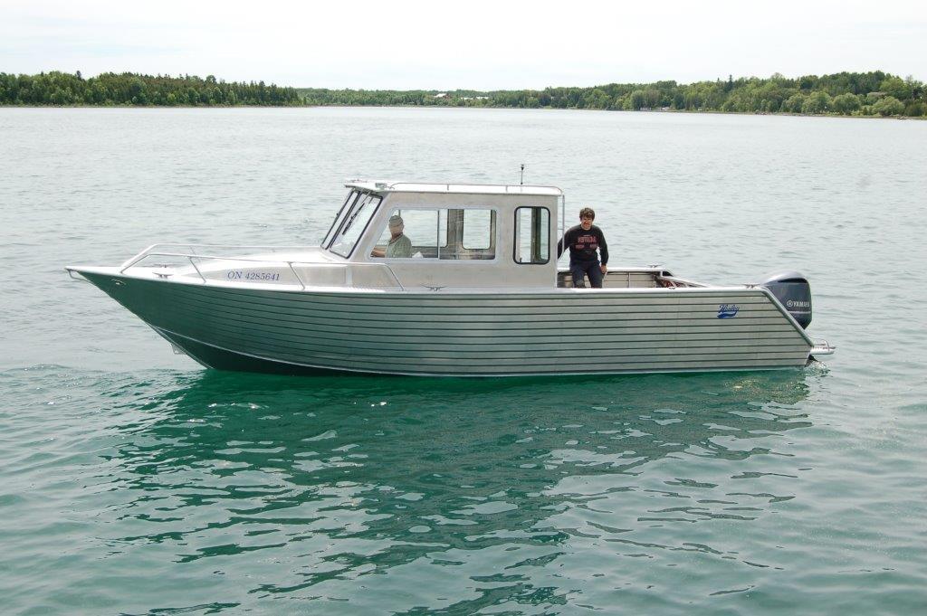 Henley Cabin Boats Henley Aluminum Boat Manufacturing